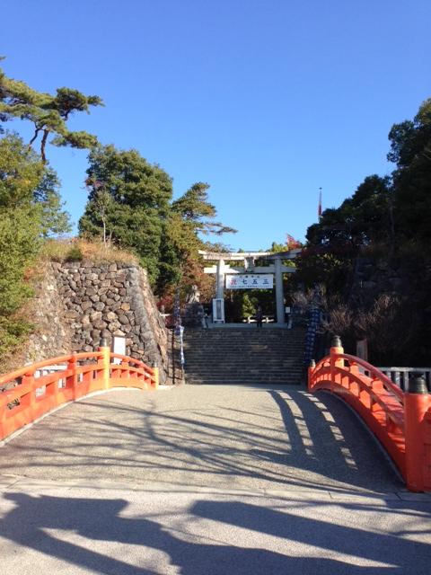 武田神社(躑躅ケ崎館)